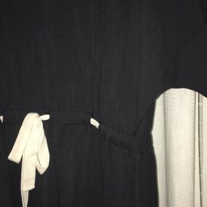 Dresses & Skirts - topshop navy belted dress